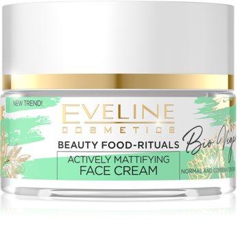 Eveline Cosmetics Bio Vegan normalizująco-matujący krem na dzień i na noc