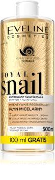 Eveline Cosmetics Royal Snail acqua micellare effetto rigenerante