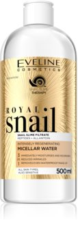 Eveline Cosmetics Royal Snail Micellar Water with Regenerative Effect