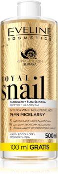 Eveline Cosmetics Royal Snail woda micelarna o działaniu regenerującym