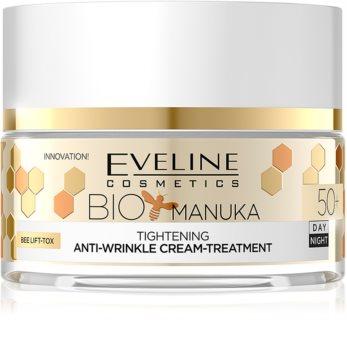 Eveline Cosmetics Bio Manuka Cremă cu efect de netezire și fermitate 50+
