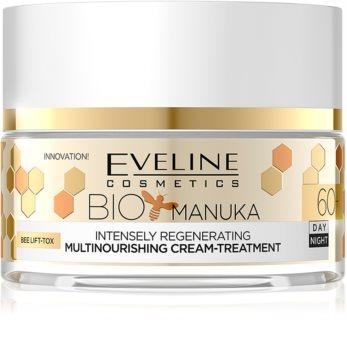 Eveline Cosmetics Bio Manuka crema Intensiv Regeneratoare 60+