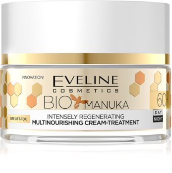 Eveline Cosmetics Bio Manuka intensywny krem regenerujący 60+
