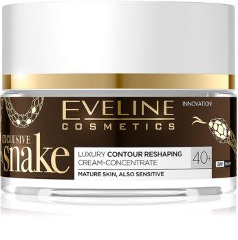 Eveline Cosmetics Exclusive Snake омолоджуючий крем 40+