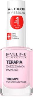 Eveline Cosmetics Nail Therapy Professional vernis à ongles fortifiant pour ongles faibles et abîmés à la kératine