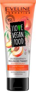 Eveline Cosmetics I Love Vegan Food hydratační pleťový peeling