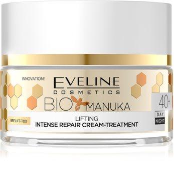 Eveline Cosmetics Bio Manuka festigende und glättende Creme  40+