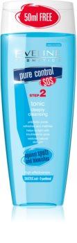 Eveline Cosmetics Pure Control lozione tonica detergente