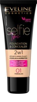 Eveline Cosmetics Selfie Time make-up a korektor 2 v 1