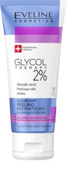 Eveline Cosmetics Glycol Therapy exfoliant enzymatique avec AHA Acids