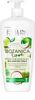 Eveline Cosmetics Botanic Love bálsamo corporal de hidratação intensa