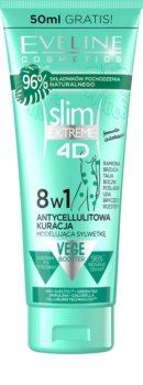 Eveline Cosmetics Slim Extreme bálsamo corporal reafirmante anticelulite e antiestrias