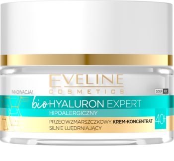 Eveline Cosmetics Bio Hyaluron Firming Cream with Anti-Wrinkle Effect