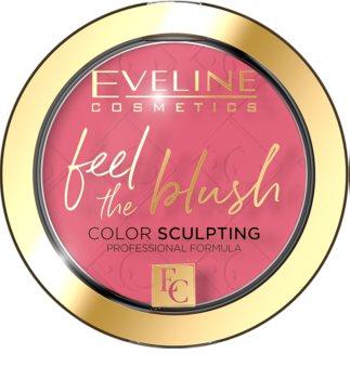 Eveline Cosmetics Feel The Blush dlouhotrvající tvářenka s matným efektem