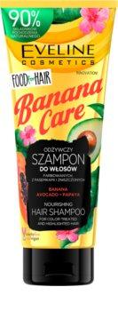 Eveline Cosmetics Food for Hair Banana színvédő hidratáló sampon