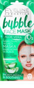 Eveline Cosmetics Bubble Mask Aloe Vera Soothing And Hydrating Mask With Aloe Vera