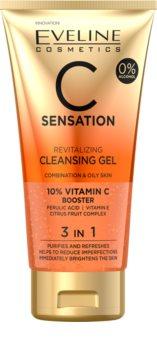 Eveline Cosmetics C Sensation revitalizační čisticí gel