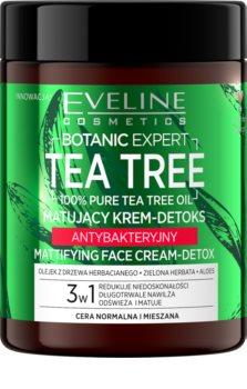 Eveline Cosmetics Botanic Expert Mattifying Cream with Detoxifying Effect