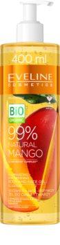 Eveline Cosmetics Bio Organic Natural Mango gel regenerador e hidratante para todos os tipos de pele