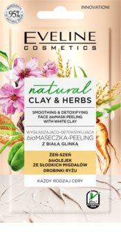 Eveline Cosmetics Natural Clay & Herbs detoxikační pleťová maska s jílem