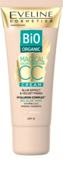 Eveline Cosmetics Magical Colour mattierende CC-Creme für Haut mit Unvollkommenheiten LSF 15