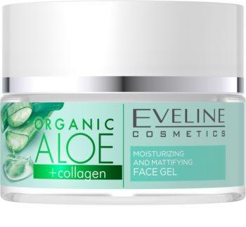 Eveline Cosmetics Organic Aloe zmatňující pleťový gel