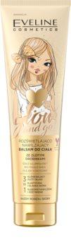 Eveline Cosmetics Glow & Go bálsame hidratante para corpo