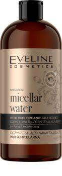 Eveline Cosmetics Organic Gold čisticí micelární voda s hydratačním účinkem