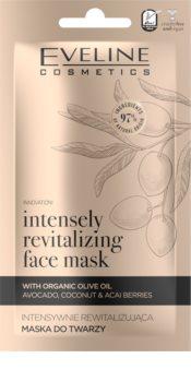 Eveline Cosmetics Organic Gold revitalizační pleťová maska s olivovým olejem