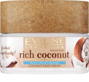Eveline Cosmetics Rich Coconut Rejuvenating Nourishing Cream with Probiotics