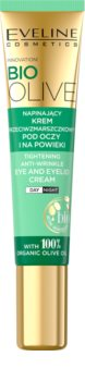 Eveline Cosmetics Bio Olive Anti-Wrinkle Eye Cream for Reducing Puffiness and Dark Circles With Olive Oil