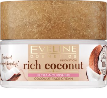 Eveline Cosmetics Rich Coconut Ultra-Moisturising Cream day and night