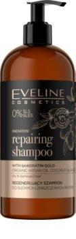 Eveline Cosmetics Organic Gold regenerační šampon pro suché a poškozené vlasy