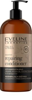 Eveline Cosmetics Organic Gold Regenerating Conditioner for Dry and Damaged Hair