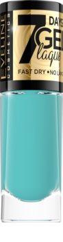 Eveline Cosmetics 7 Days Gel Laque Nail Enamel Gel-Lack für Fingernägel - keine UV/LED Lampe erforderlich
