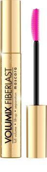 Eveline Cosmetics Volumix Fiberlast Gold Mascara für Volumen und zum Trennen der Wimpern