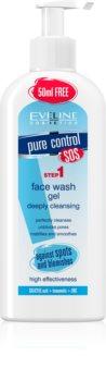 Eveline Cosmetics Pure Control gel za pranje za dubinsko čišćenje