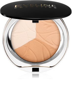 Eveline Cosmetics Celebrities Beauty zmatňujúci púder s minerálmi