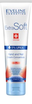 Eveline Cosmetics Extra Soft creme para mãos e unhas 3 em 1