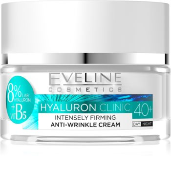 Eveline Cosmetics Hyaluron Clinic Intensive Firming Day and Night Cream 40+
