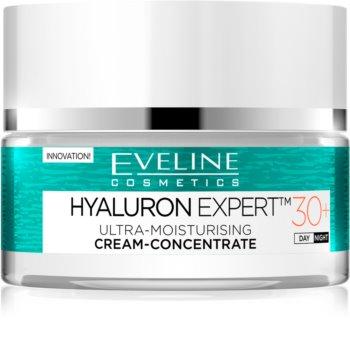 Eveline Cosmetics Hyaluron Expert crema de zi si de noapte 30+