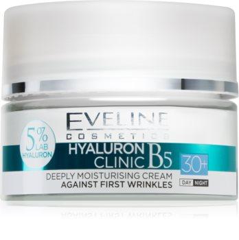 Eveline Cosmetics Hyaluron Expert денний та нічний крем 30+