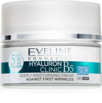 Eveline Cosmetics Hyaluron Expert crema de día y noche 30+