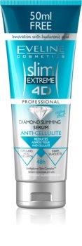 Eveline Cosmetics Slim Extreme zeštíhlující a zpevňující sérum proti celulitidě s kyselinou hyaluronovou