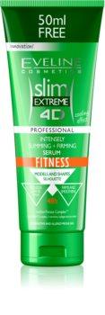 Eveline Cosmetics Slim Extreme karcsúsító és feszesítő szérum a narancsbőr ellen hűsítő hatással