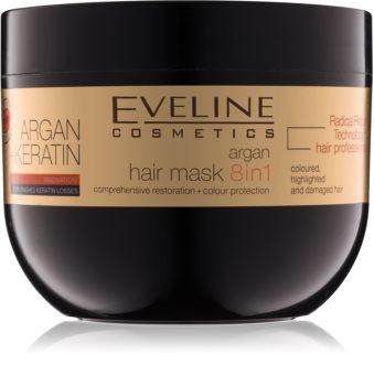 Eveline Cosmetics Argan + Keratin Hårmask Med keratin och arganolja