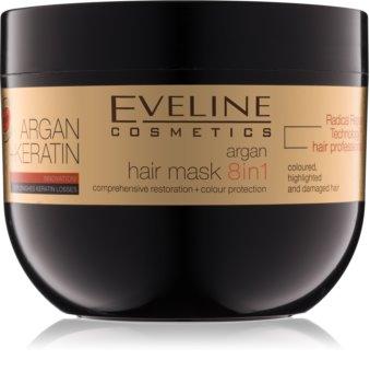 Eveline Cosmetics Argan + Keratin Masca de par cu keratina si ulei de argan