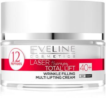 Eveline Cosmetics Laser Therapy Total Lift crema giorno e notte antirughe 40+