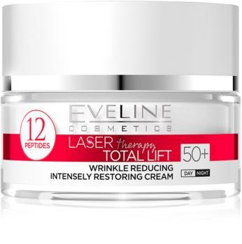 Eveline Cosmetics Laser Therapy Total Lift дневен и нощен крем против бръчки  50+