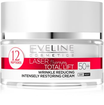Eveline Cosmetics Laser Therapy Total Lift Day And Night Anti - Wrinkle Cream 50+